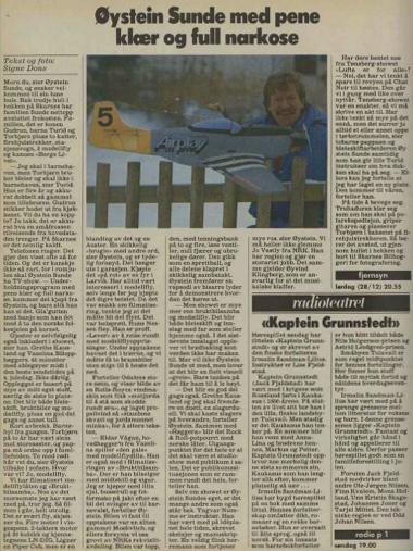 Aftenposten 28. desember 1985
