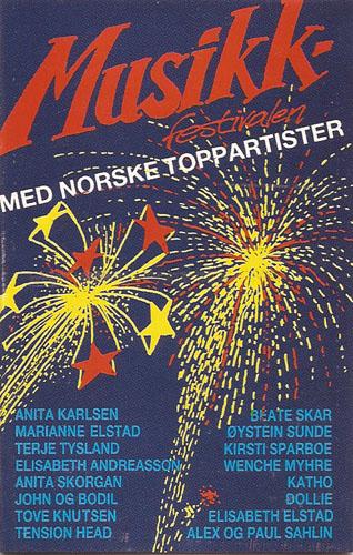 Musikkfestivalen med norske toppartister