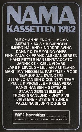 NAMA-kassetten 1982