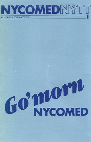 Go' morn NYCOMED